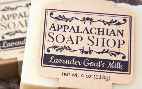 Apothecary labels in use