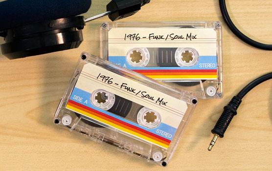 Audio / video labels in use