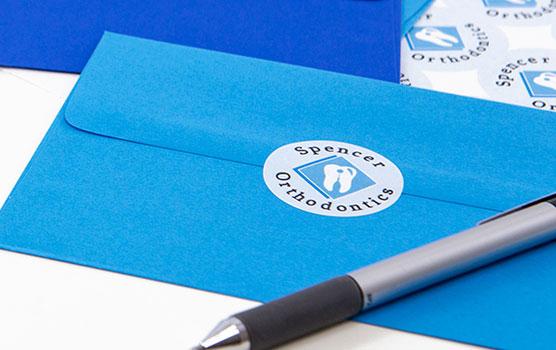Envelope seals in use