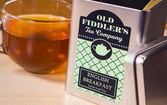 Tea labels in use
