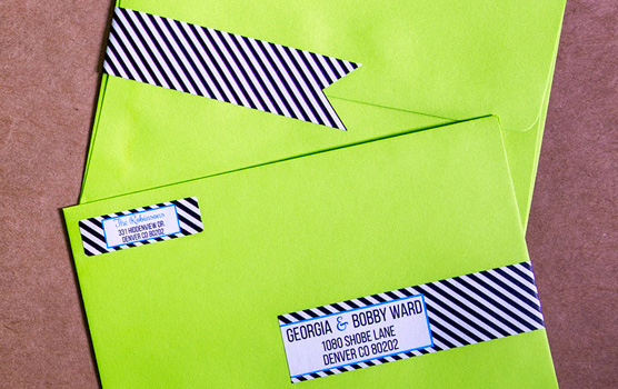 Wrap around labels in use