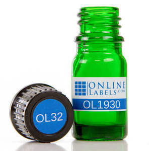 5 ml Euro Glass Bottle - OL1930