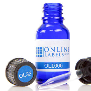 15 ml Euro Glass Bottle - OL1000