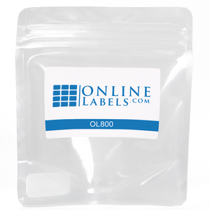 1 oz. Clear Stand Up Pouch - OL800