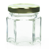 1.5 oz Glass Hexagon Jar Labels thumbnail