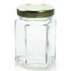 2 oz Glass Hexagon Jar Labels thumbnail