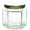 4 oz Glass Hexagon Jar Labels thumbnail