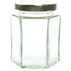 6 oz Hexagon Glass Jar Labels thumbnail