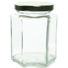 9 oz Hexagon Glass Jar Labels thumbnail