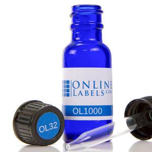 0.5 oz. Boston Round Glass Bottle - OL1000
