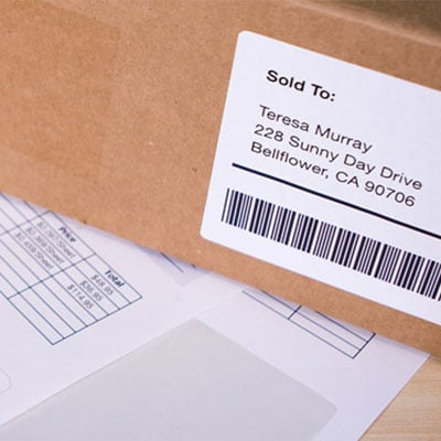 Combine Packing Slips & Shipping Labels w/ Integrated Forms